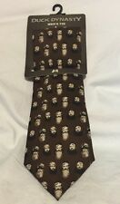 Duck Dynasty Officially Licensed Floating Heads Tie New With Tags $34