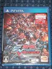 NEW PS Vita Mobile Suit GUNDAM EXTREME VS FORCE w/bonus DLC JAPAN F/S w/Tracking