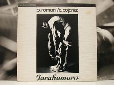 BRUNO ROMANI / CLAUDIO COJANIZ - TARAHUMARA LP 1989 TUNNEL RECORDS NTR 01