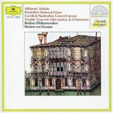 Albinoni Adagio g-moll/Pachelbel: Kanon & Gigue/Corelli & Manfredini: Con.. [CD]