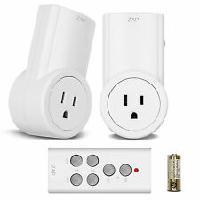 Etekcity® 2 Pack Remote Control Wireless Power Outlets Light Switch Socket Plug