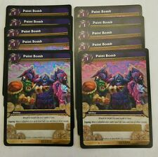 World of Warcraft Paint Bomb x10  LOOT Unused T UNSCRATCHED get 10 code cards