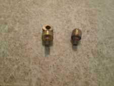 VINTAGE GRANDFATHER CLOCK BRASS HANGER & NUT FOR WEIGHT ONE SET  (619C)