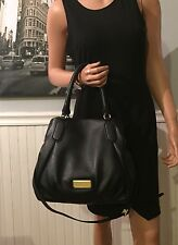 NWT Marc By Marc Jacobs New Q Fran Hobo Shoulder Bag Black Leather $448