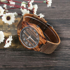 New Fashion Retro Zebra Wood Digital Belt Wooden Table Universal Brown Color