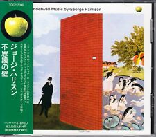 George Harrison Wonderwall Music 1992 Japan CD 1st Press With Obi TOCP-7096 HTF