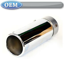 OEM NEW 2011-2017 F-150 Chrome Plated Exhaust Tip- Fits 3.5 Ecoboost, 5.0 Coyote