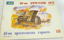 45-mm ANTI-TANK GUN 39-45 series Rote Armee Bausatz KIT 1:35 ICM 35021 OVP #  å