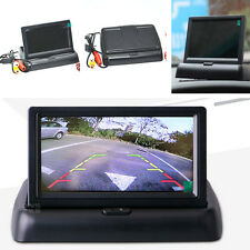 """4.3"""" Foldable LCD Color Car Auto Rearview Monitor Parking Reverse Display Screen"""