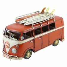 SURFING KOMBI VAN 1963 RED.VINTAGE REPLICA .NEW IN BOX ( METAL )