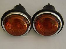 CLASSIC LUCAS L488   INDICATOR  LIGHT UNIT PAIR 12V