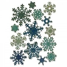 Tim Holtz Sizzix Thinlits Die ~ PAPER SNOWFLAKES, MINI ~ Alterations 661599