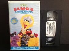 Sesame Street - Elmo's Musical Adventure: The Story of Peter and the Wolf (VHS,