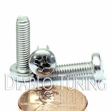 M4 x 16mm - Qty 10 - Stainless Steel Phillips Pan Head Machine Screws DIN 7985 A