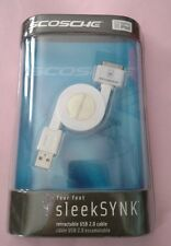 Scosche 4ft Retractable USB 2.0 Cable for IPod