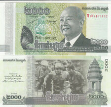 Billet banque CAMBODGE CAMBODIA KHMER 2000 RIELS 2013 NEUF UNC NEW