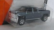 2014 CHEVROLET SILVERADO 1:64 (Dark Grey) Matchbox MIP Diecast Passenger  Sealed