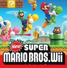 NEW SUPER MARIO BROS. Nintendo Wii Game