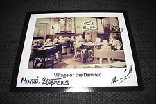 Village of the Damned signed autógrafos preidel Scoble Stephens inperson Look