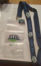 SUPER BOWL XLIII  STEELERS VS CARDINALS  NFL 02/01/2009 LANYARD AND PIN