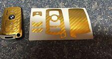 Carbon Chrom Gold Schlüssel Folie BMW Key E67 5er E67  6er 7er E65 E66 E M