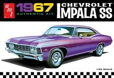 AMT 1967 Chevy Impala SS 1/25 Model Car Mountain Fs Chevrolet In Stock