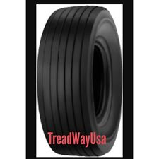 TWO 15/6.00-6, 15x6.00-6 Hay Tedder 6 Ply Rated Tubeless Tires Smooth Rib