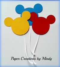 Craftecafe Mindy Embellishment Disney Balloons  premade paper piecing scrapbook