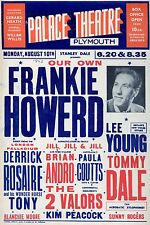 "Frankie Howard Plymouth 16"" x 12"" Photo Repro Concert Poster"