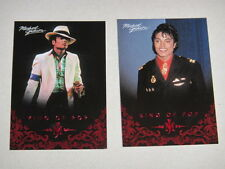 Michael Jackson - No 9 & 68 - 2 Panini Trading Cards 2011 *RARE* aus USA