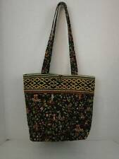 Vera Bradley Ming Button Tote Moms Day Out Cotton Quilted Retired Fabric