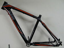 KTM Chronos LC Carbon Trekking Cross Rahmen 1400gramm 46cm schwarz-orange