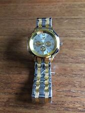 New Gold & Silver Coloured Mans Watch  W118c