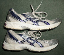 Women's Purple, Silver ASICS GEL-MAVERICK 3 Athletic Running Shoes, Size 8, GUC!