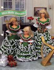 NEW MISS HOLLY DRESSES DESIGNS FOR BARBIE AND LITTLE SIS