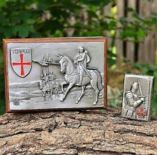 Zippo Lighter - Crusader - European - Limited Edition - Knights Templer Templar