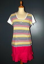SONIA RYKIEL TOP T SHIRT BAYADERE  DIAMS T XL OU 42/44