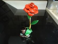 Red Rose Tobacco Pipe. 5 Free screens   contains no glass  ( PM 1322 )