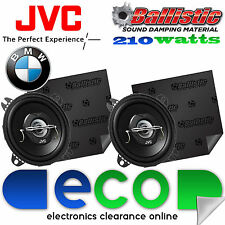 BMW 3 Series E36 JVC 10 cm 210 Watts 2 Way Car Speakers & Sound Deadening