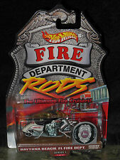 Hot Wheels Fire Department Rods, The Ultimate Fire Cruiser, Scorchin Scooter