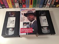 Separate But Equal TV Movie Civil Rights Drama VHS 1991 Sidney Poitier Lancaster
