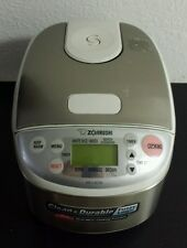 Zojirushi NS-LAC05 Micom RICE COOKER & WARMER, Stainless Steel Fuzzy Logic