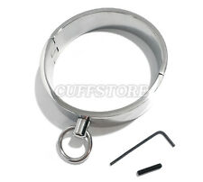 NEW Stainless Steel Single Ring for Leash Human Collar w/ Allen Drive Key - 12""