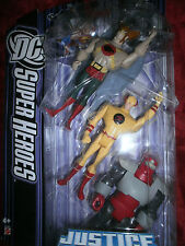 DC JUSTIC LEAGUE HAWKMAN REVERSE FLASH ROCKET RED