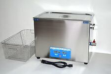 DSA800SE-SK2 30L 8GAL 1600W 40KHz DIGITAL ULTRASONIC PARTS CLEANER +BASKET+LID