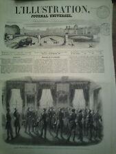 L'illustration n°451 18 oct 1851 marine toulon aéronautique port sète dock