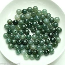 20PCS Chinese Natural A grade Jade (Jadeite) Beads / Size:7-8mm (Wholesale)