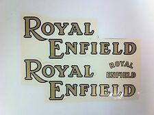 Royal Enfield Motorcycle Sticker Set 3 pieces - NEW - #(F-36)