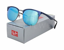 NEW Ray Ban RB 3538 189 55 53mm Blue Gunmetal / Blue Mirror Sunglasses