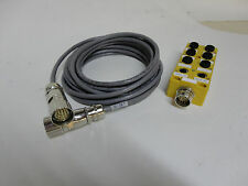 Turck Junction Box and IO cable VB80-P7X9-CS12 with LED
